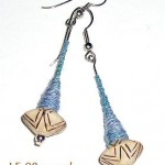 Carved Wood Spindle Jewels™ Earrings